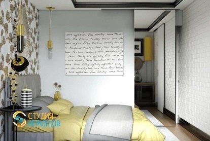 Капитальный ремонт спальной комнаты 9 м2