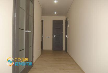 Капитальный ремонт коридора 11 кв.м.