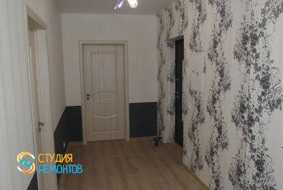 Капитальный ремонт коридора 8,5 кв.м.