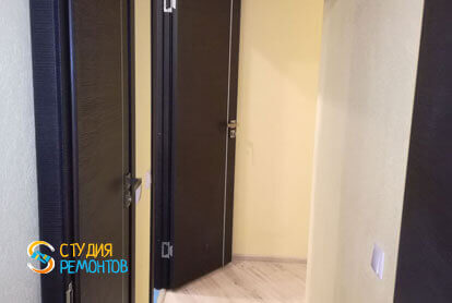 Капитальный ремонт коридора 9 кв.м.