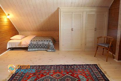 Капитальный ремонт детской комнаты в коттедже из бруса 40,5 квадратов