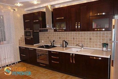 Капитальный ремонт кухни 20 кв.м.