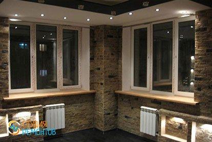 Капитальный ремонт кухни 29 м2