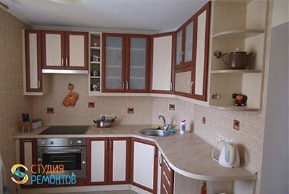 Косметический ремонт кухни 6 кв.м