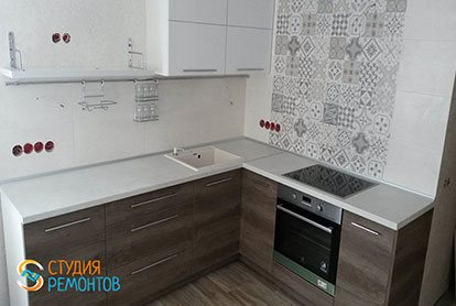 Косметический ремонт кухни 7 кв. м.