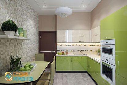 Ремонт кухни 10 кв.м. под ключ