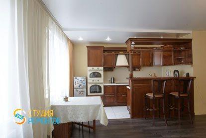 Ремонт кухни 14 кв.м. под ключ фото 1