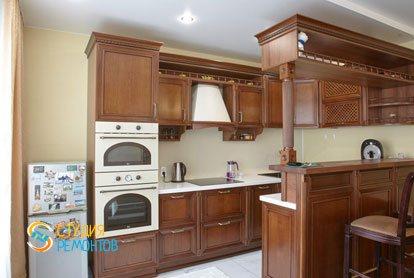 Ремонт кухни 14 кв.м. под ключ фото 2