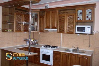Ремонт кухни 7,5 м2 под ключ