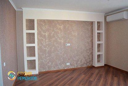 Капитальный ремонт спальни 21 м2 фото2