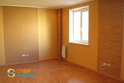 Капитальный ремонт зала 18 м2