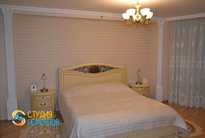 Ремонт спальни в классическом стиле в 1-к квартире 36 кв.м.