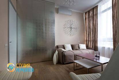 Ремонт комнаты в трехкомнатной квартире 56,5 кв.м. в современном стиле фото-2