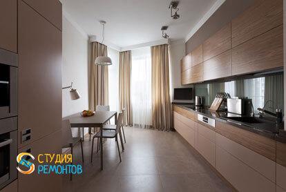 Ремонт кухни в двухкомнатной квартире 59,5 кв.м. в современном стиле