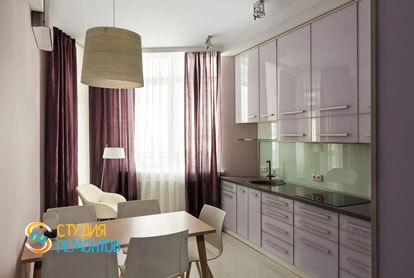 Ремонт кухни в трехкомнатной квартире 56,5 кв.м. в современном стиле фото-1