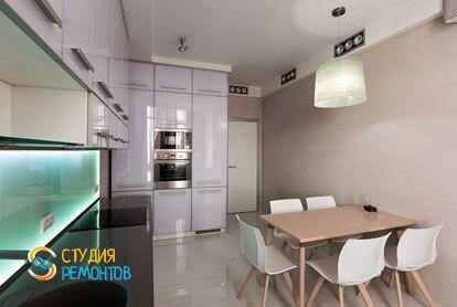 Ремонт кухни в трехкомнатной квартире 56,5 кв.м. в современном стиле фото-2