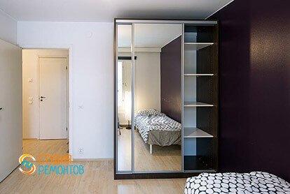 Ремонт жилой комнаты в стиле минимализм в двухкомнатной квартире 49 кв.м.