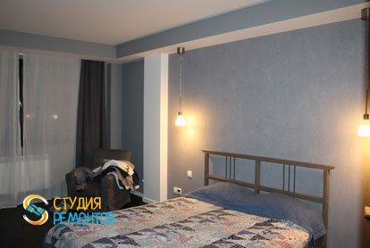 Евроремонт квартиры 100 кв.м. Спальня, фото-2