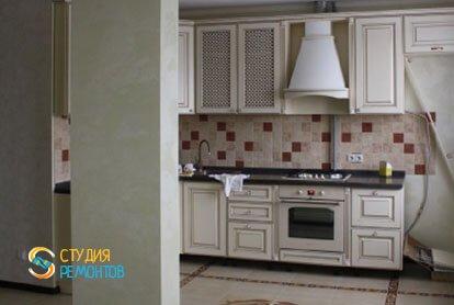 Евроремонт квартиры 100 м2. Кухня-зал, фото-1