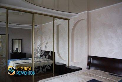 Евроремонт квартиры 100 м2. Спальня