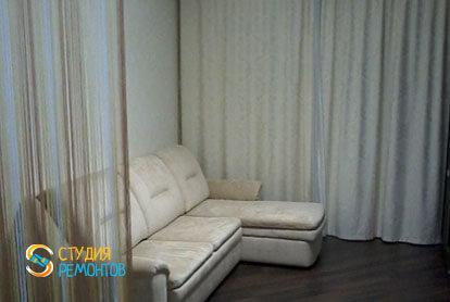 Капремонт комнаты в однокомнатной квартире 18 кв.м.