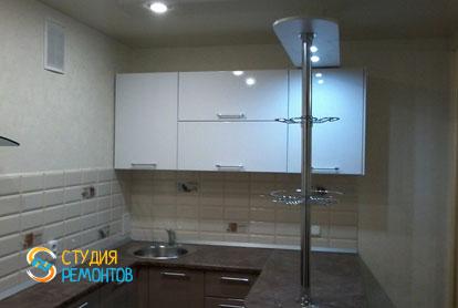 Капремонт кухни в однокомнатной квартире 18 кв.м. фото-1