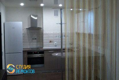 Капремонт кухни в однокомнатной квартире 18 кв.м. фото-2