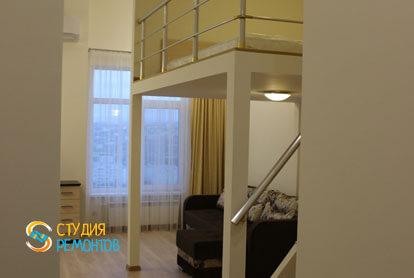 Капитальный ремонт комнаты с кухней в квартире 25 кв.м. фото-1
