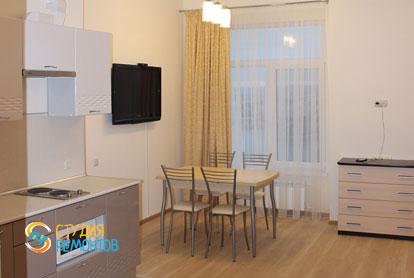 Капитальный ремонт комнаты с кухней в квартире 25 кв.м. фото-2