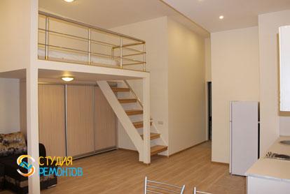 Капитальный ремонт комнаты с кухней в квартире 25 кв.м. фото-3