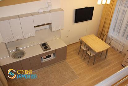 Капитальный ремонт комнаты с кухней в квартире 25 кв.м. фото-4