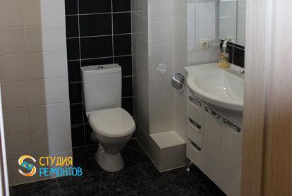 Капитальный ремонт совмещенного санузла в квартире 25 кв.м. фото-1