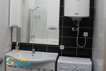 Капитальный ремонт совмещенного санузла в квартире 25 кв.м. фото-2