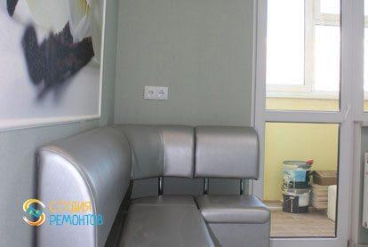 Капремонт квартиры 25 кв.м. кухня фото-3