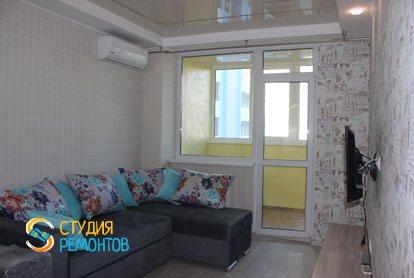 Капремонт квартиры 25 кв.м. спальня фото-1