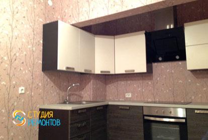 Косметический ремонт квартиры 25 кв.м. кухня фото-1