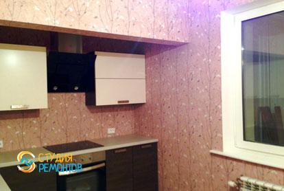 Косметический ремонт квартиры 25 кв.м. кухня фото-2