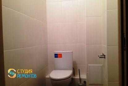 Косметический ремонт квартиры 25 кв.м. туалет
