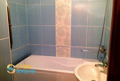 Косметический ремонт квартиры 25 кв.м. ванная