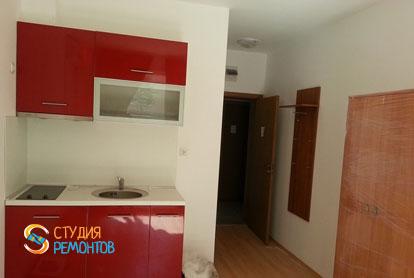 Евроремонт жилой комнаты в квартире 28 кв.м. фото-1