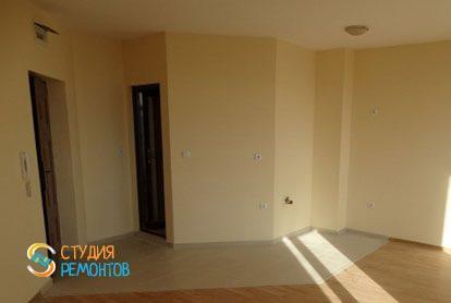 Ремонт комнаты-студии в квартире 28 м2 фото-1