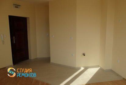 Ремонт комнаты-студии в квартире 28 м2 фото-2