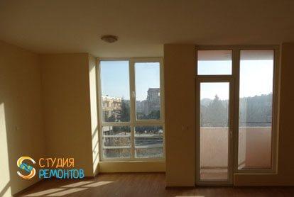 Ремонт комнаты-студии в квартире 28 м2 фото-3