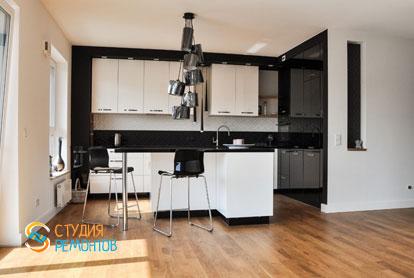 Евроремонт кухни в однокомнатной квартире 29 кв.м.