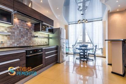 Евроремонт кухни в квартире 30 кв.м. фото 2