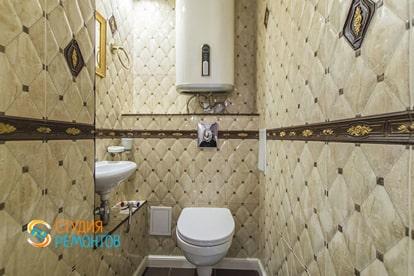 Евроремонт туалета в квартире 30 кв.м.