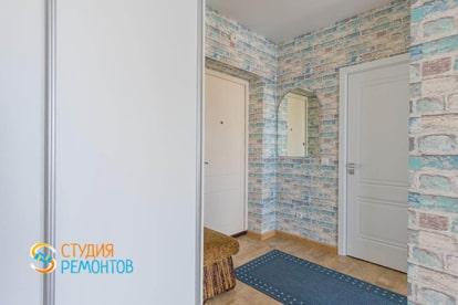 Капитальный ремонт коридора в 1 комнатной квартире 30 кв.м.