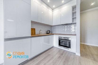 Косметический ремонт кухни в квартире 30 кв.м.