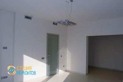 Евроремонт квартиры 32 кв.м. гостиная комната фото-1