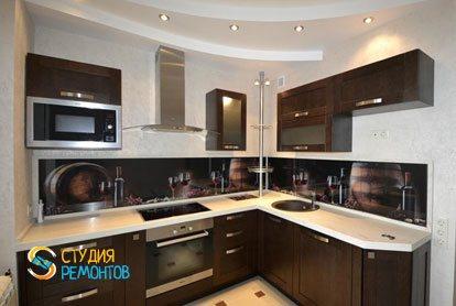 Евроремонт квартиры 32 кв.м. кухня